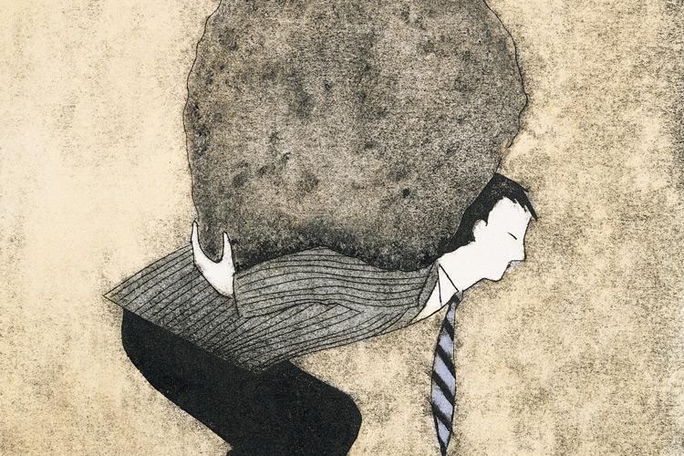Image result for pressure on work illustration