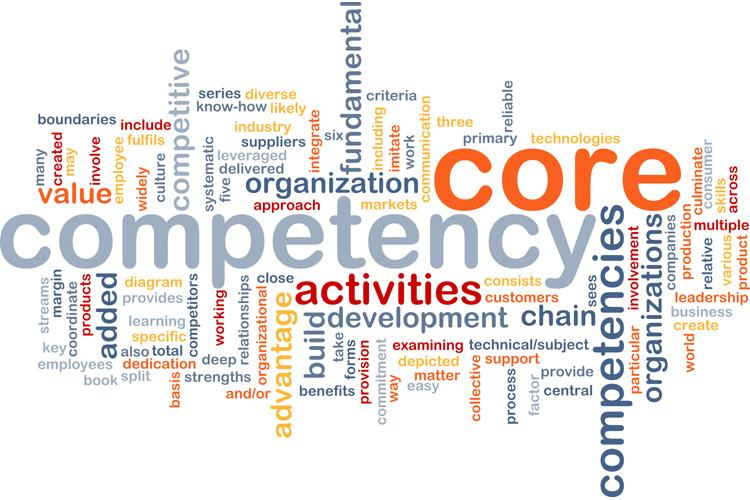 List of key competencies