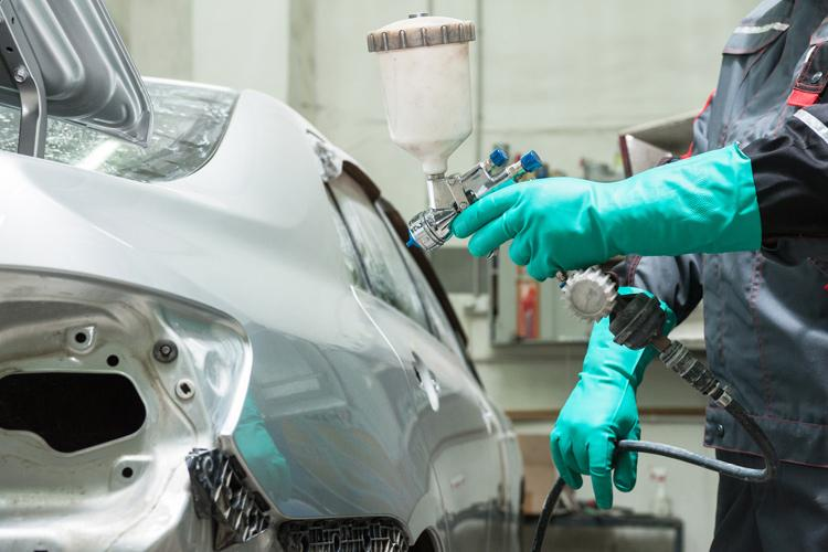 Vehicle paint technicians