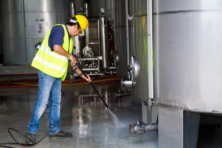 Industrial cleaning process occupations
