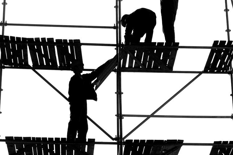 Scaffolders, stagers and riggers
